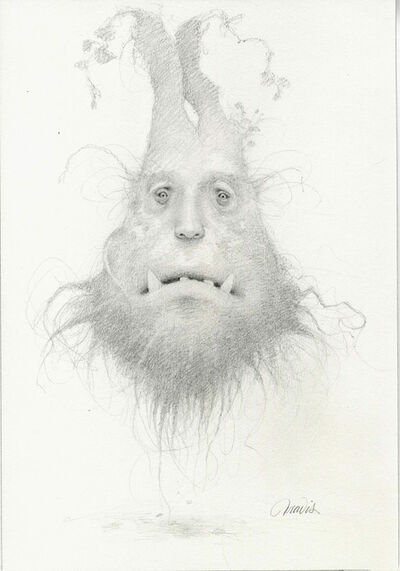 Travis Louie, 'The Root Beard Drawing'