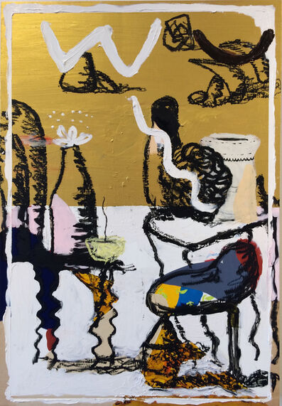 Mtendere Mandowa, 'Baby Swing, Tables, Bottle, JK Ceramics', 2017