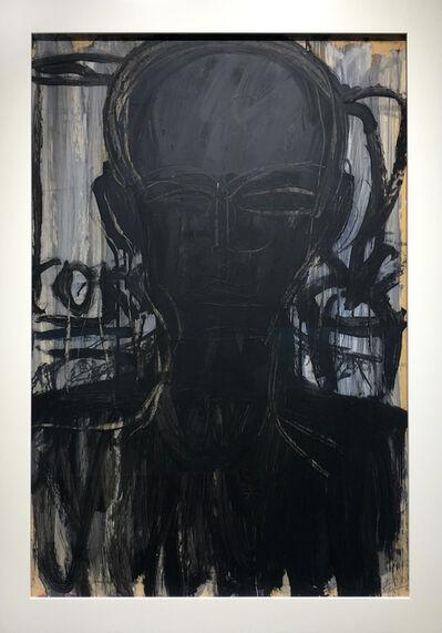 Lester Johnson, 'Studio Head', ca. 1964