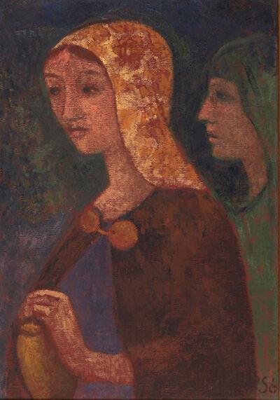 Paul Sérusier, 'Mary Madeleine et Saint-Jean', 1903