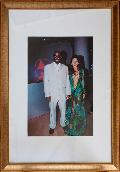 Patrick McMullan, 'The most photographed dress of the 20th Century. Sean Combs & Jennifer Lopez', 2000