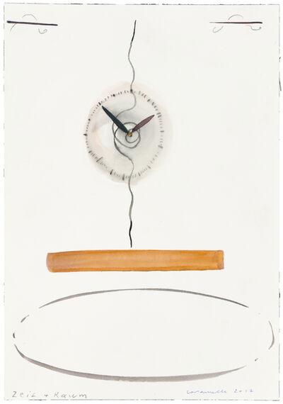 Ernst Caramelle, 'Zeit + Raum', 2012
