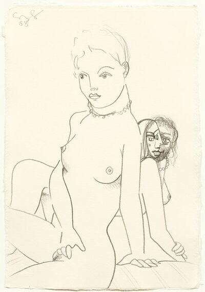 George Condo, 'Two female models', 20118