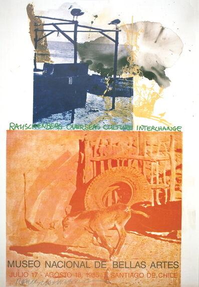 Robert Rauschenberg, 'ROCI: Chile', 1985