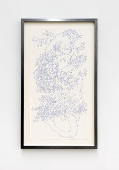 Achraf Touloub, 'Landscape Stream (blue)', 2015