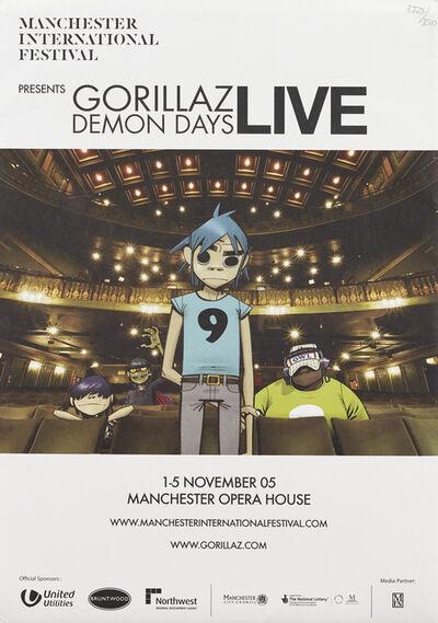 Jamie Hewlett, 'Gorillaz Demon Days Live Programme', 2005