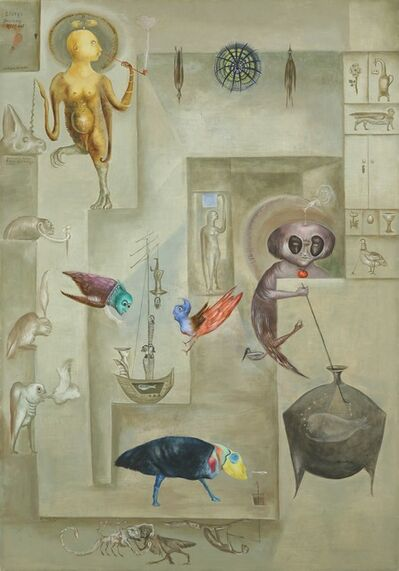 Leonora Carrington, 'Sanctuary for Furies', 1974