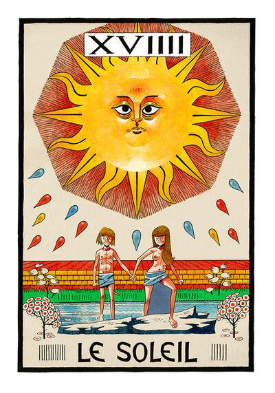 Jamie Hewlett, 'Le Soleil (The Sun)', 2015