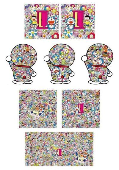 Takashi Murakami, 'A set of 8 prints from Doraemon series', 2019