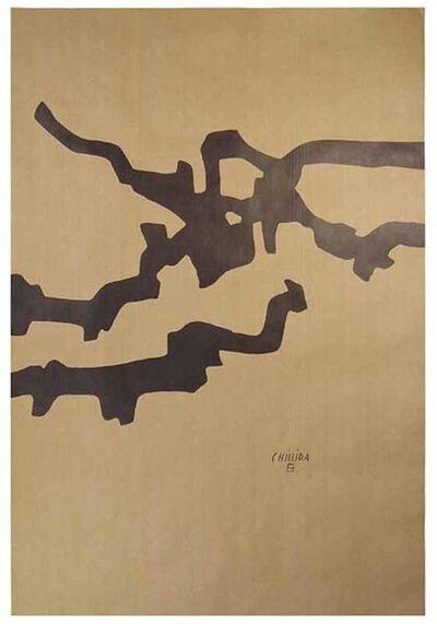 Eduardo Chillida, 'Mármol y plomo', 1974