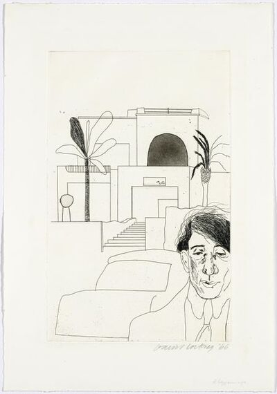 David Hockney, 'Fourteen poems by C P Cavafy', 1966
