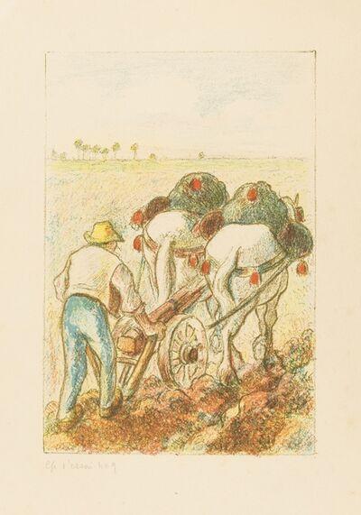 Camille Pissarro, 'La Charrue, from: Les Temps Nouveaux (Delteil 194 ii/ii; Vevey 100)', 1901