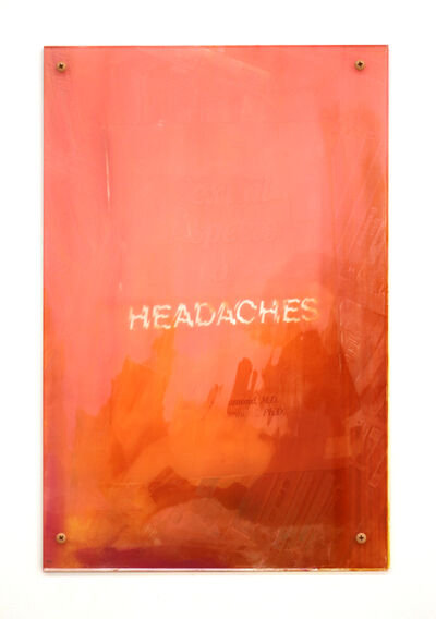 Sara Greenberger Rafferty, 'Headaches 2', 2017