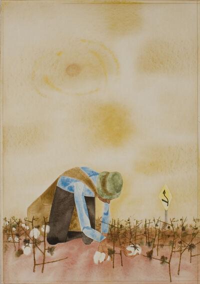 Robert Gwathmey, 'Picking Cotton', ca. 1950