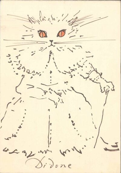 Fabrizio Clerici, 'Didone and Cifanesco', 1956