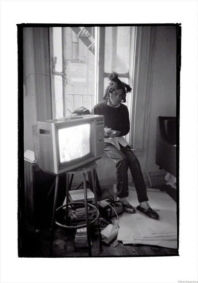 Roland Hagenberg, 'Basquiat TV, New York, 1983', 1983