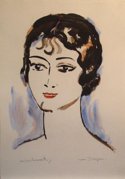 Kees van Dongen, 'Portrait de Jeune Femme', 1925-1930