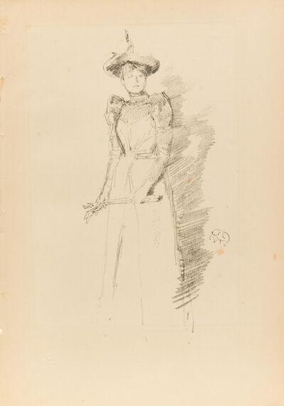 James Abbott McNeill Whistler, 'A group of 7 lithographs including Firelight – Joseph Pennell, No. 1, 1896 (3); The Doctor, 1894 (2); Stéphane Mallarmé,  1892; and Gants de Suede, 1890'