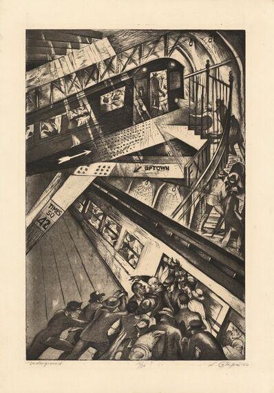 Letterio Calapai, 'Underground.', 1946