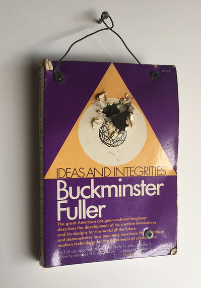 "Tom Sachs, '""Buckminister Fuller- Ideas and Integrities"", 1996, Shotgun Book Edition of 30.', 1996"