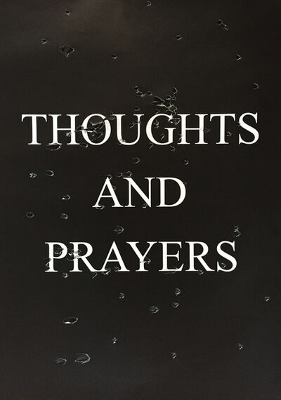 Sarah Maple, 'Thoughts And Prayers', 2018