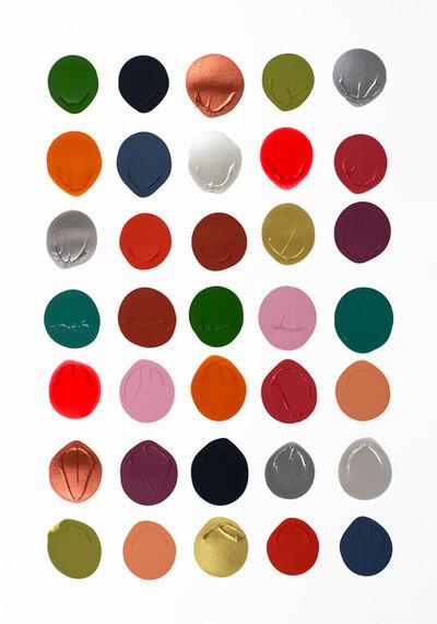 Logan Ledford, 'Color on White #1', 2019