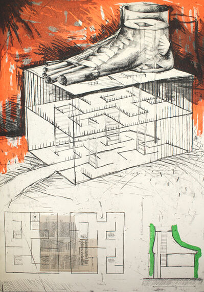 Andres Nagel, 'Sin título 4', 1991