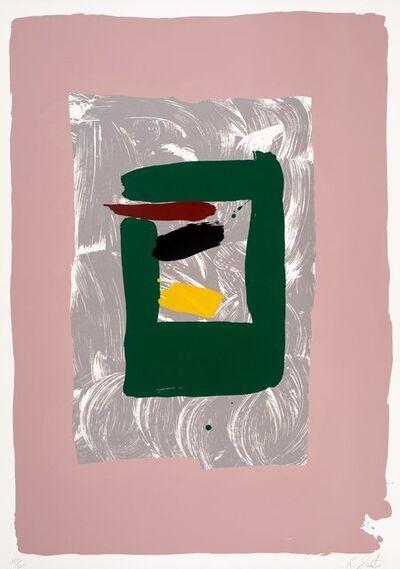 Kikuo Saito, 'Pink Square', c. 1980