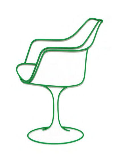 Michael Craig-Martin, 'Saarinen Chair', 2019