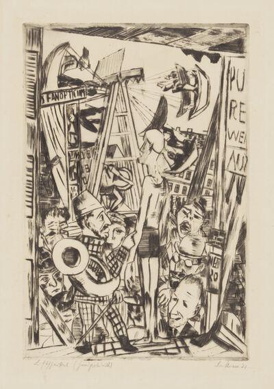 Max Beckmann, 'Der große Mann (The tall  man)', 1921