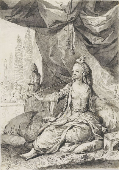 José Camarón Boronat, 'An Algerian Woman', 1771-80
