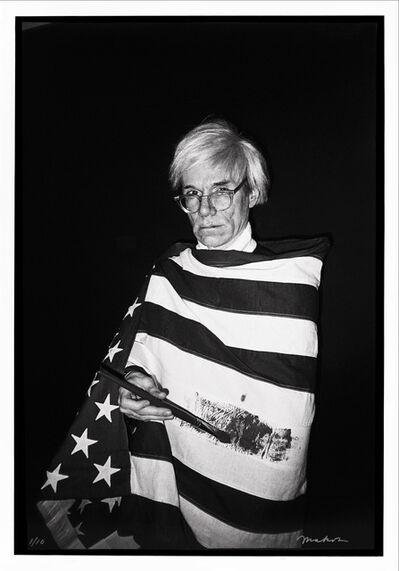 Christopher Makos, 'Warhol's America', 2020