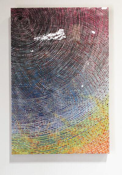 Andrew Schoultz, '3 Eyes (spectrum)', 2018