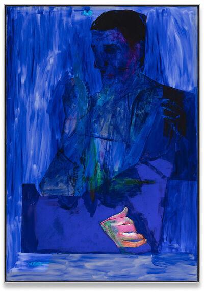 Andro Wekua, 'B.Portrait, two II', 2020