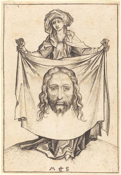 Martin Schongauer, 'Saint Veronica', ca. 1480