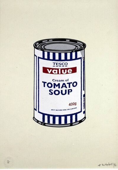 Banksy, 'SOUP CAN ORIGINAL (ARTIST'S PROOF)', 2005