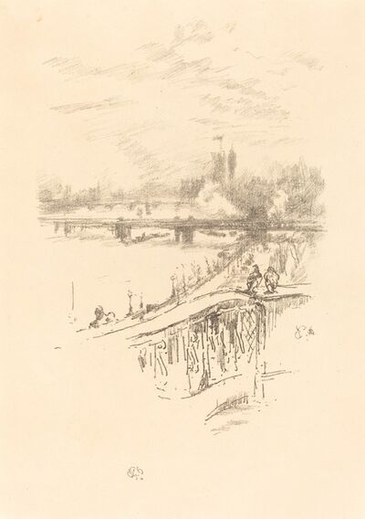 James Abbott McNeill Whistler, 'Savoy Pigeons', 1896