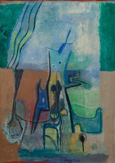 Serge Brignoni, 'Germogli', 1969