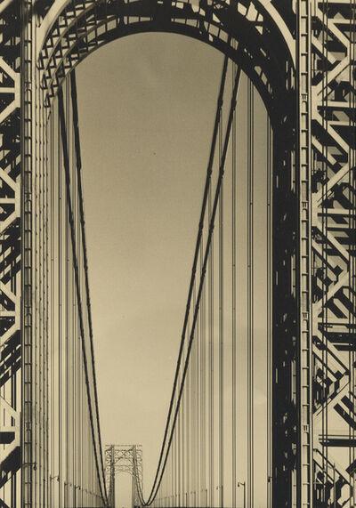 Margaret Bourke-White, 'The George Washington Bridge', 1933