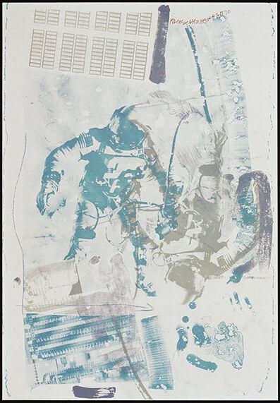 Robert Rauschenberg, 'White Walk, from Stoned Moon', 1970