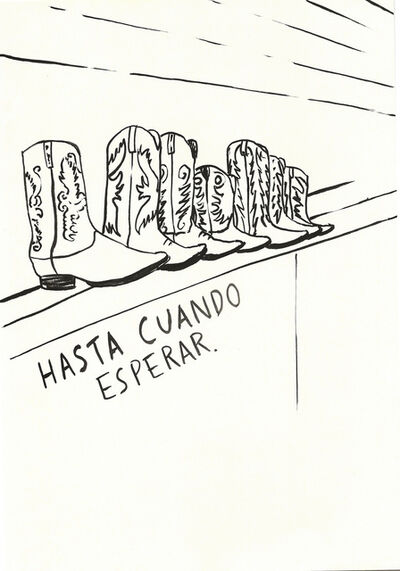Alejandra Hernandez, 'HASTA CUANDO', 2018