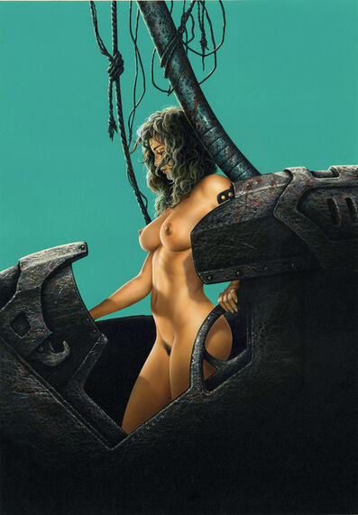 Ciruelo Cabral, 'Survivor Woman', 1992