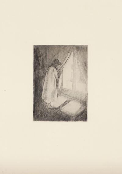Edvard Munch, 'Piken ved vinduet (The Girl at the Window)', 1894