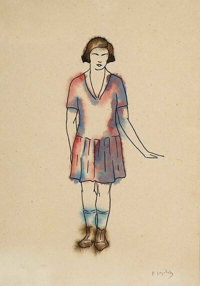 "David Kakabadze, 'Costume design for ""Chef of the station ""', 1947"