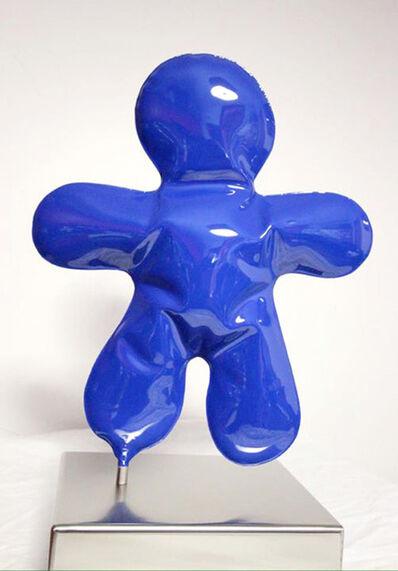 Henri Iglesis, '(SKG) Blue Petit Bonhomme', 2016