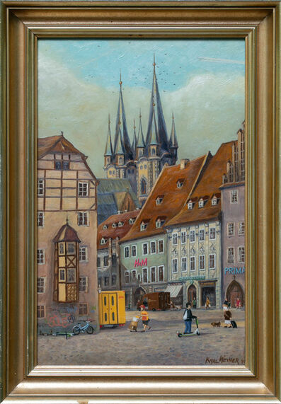 André Schulze, 'Old town', 2020