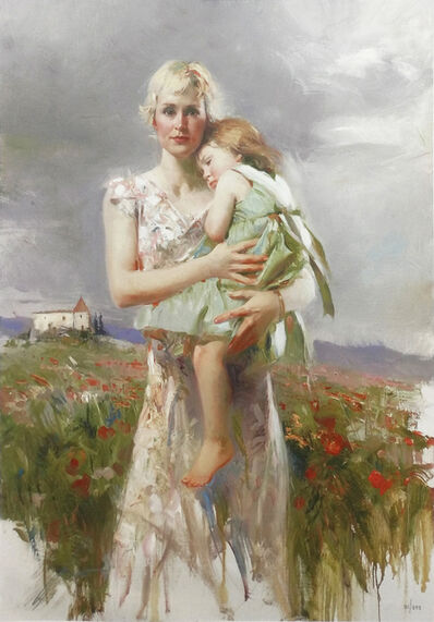 Pino Daeni, 'ANGEL FROM ABOVE', 2006