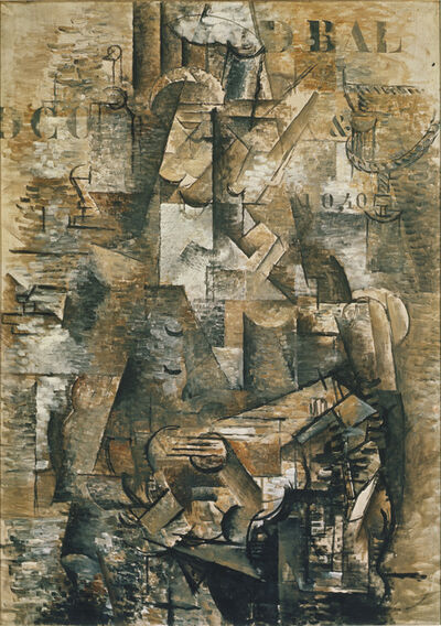 Georges Braque, 'The Portuguese', 1911