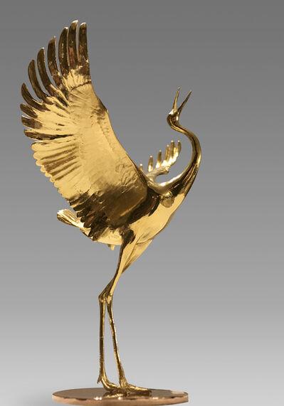 Cai Zhisong 蔡志松, 'Crane 鹤', 2016-2017
