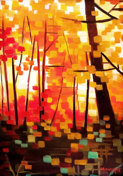 Michelle Condrat, 'Ablaze with Autumn Colors', 2017